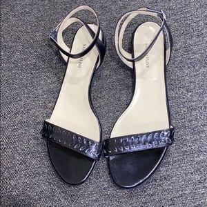 Sarah Flint Leather Ankle Strap 'Ronnie' Sandals